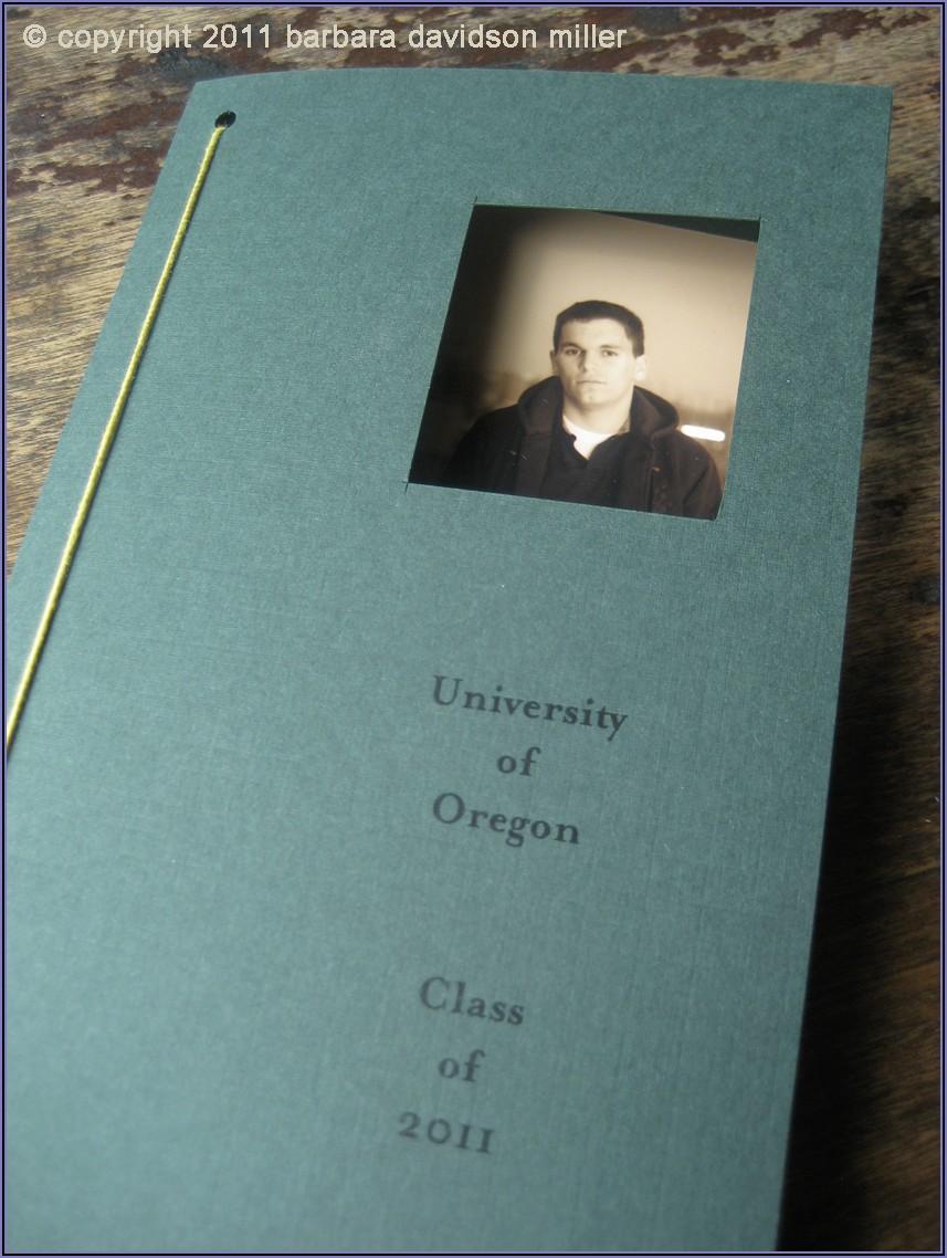 University Of Oregon Graduation Announcements