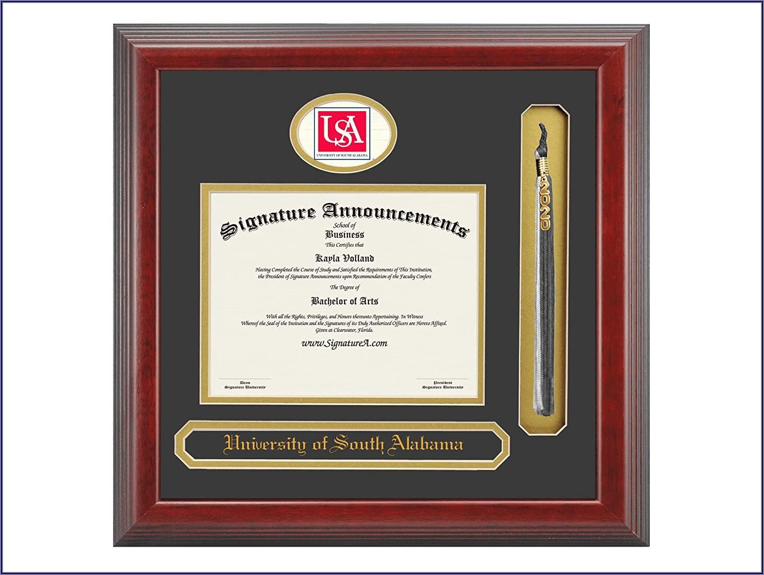 University Of South Alabama Graduation Announcements