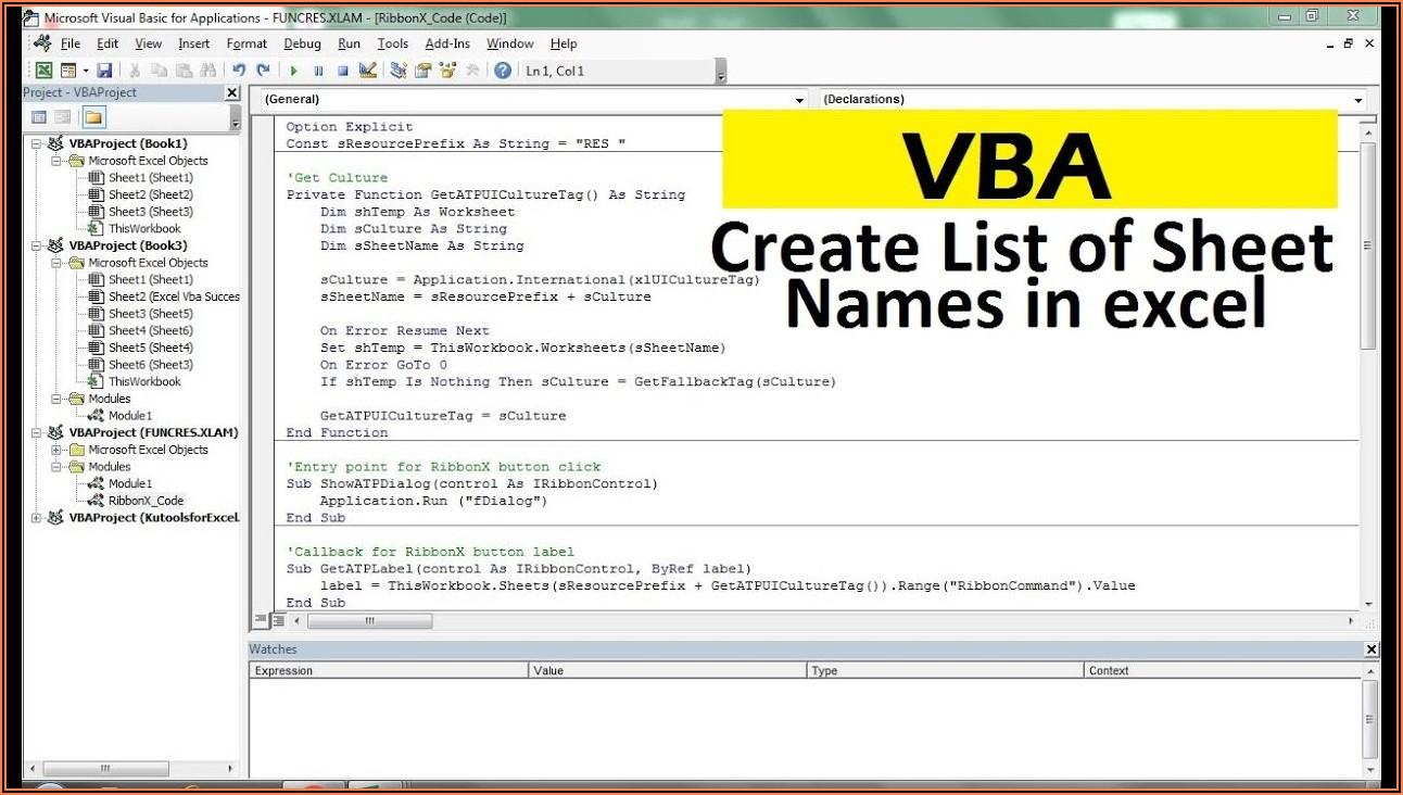 Vba Get Workbook From Worksheet