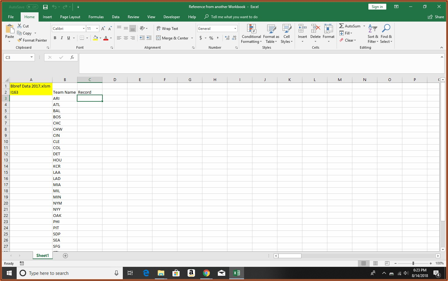 Vba Reference Another Worksheet