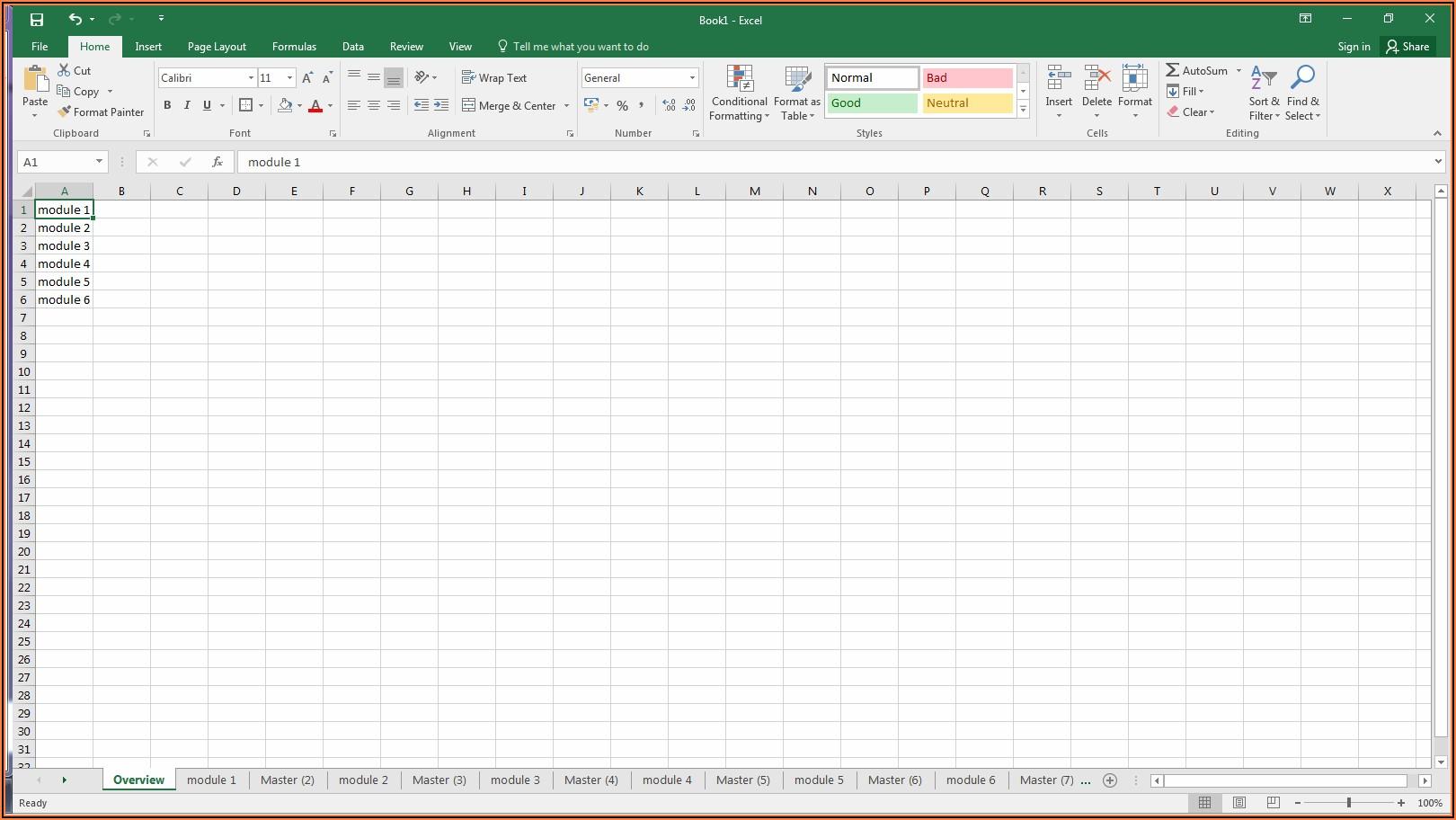 Vba Worksheet Names List