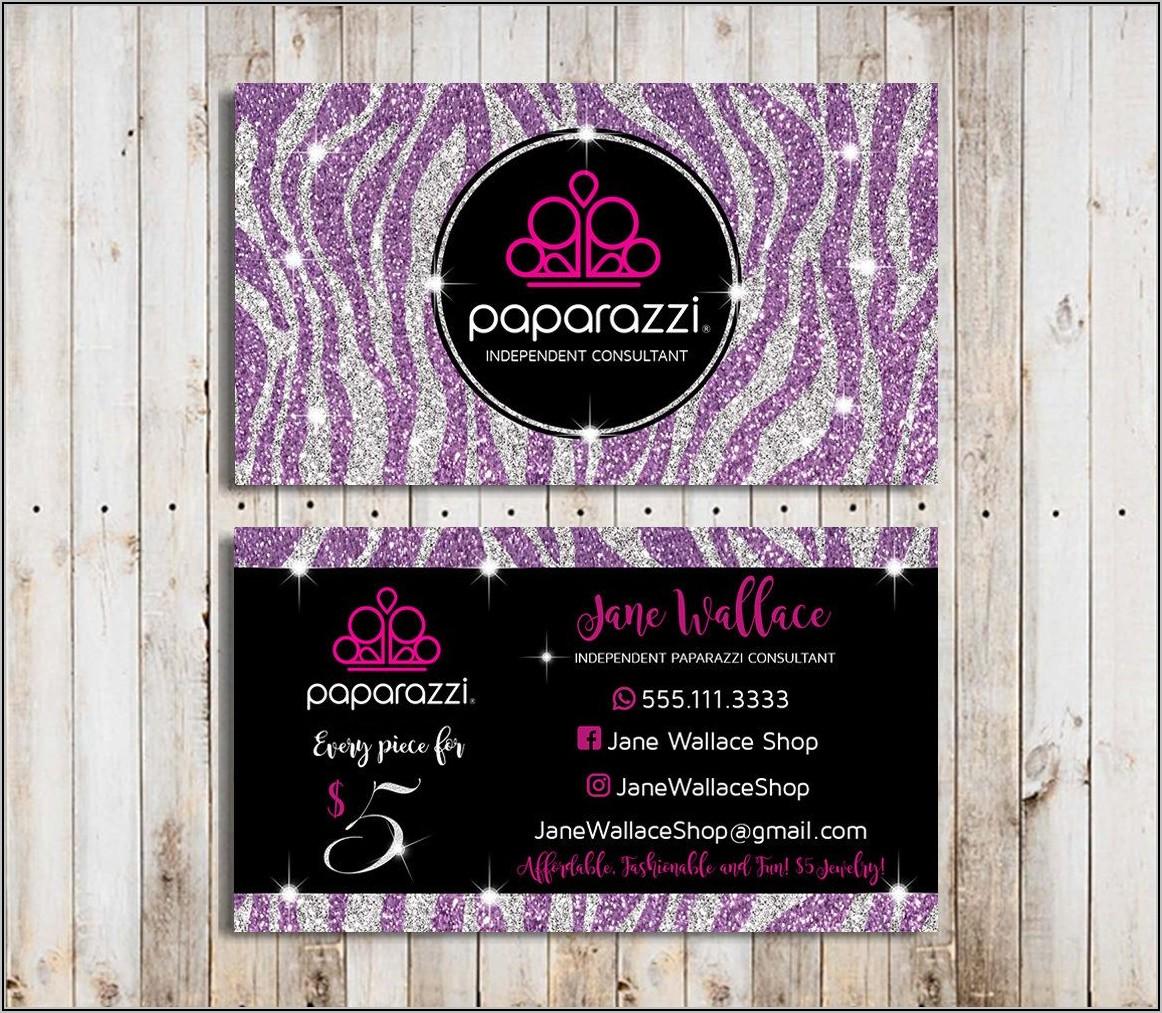 Vistaprint Paparazzi Business Card Templates