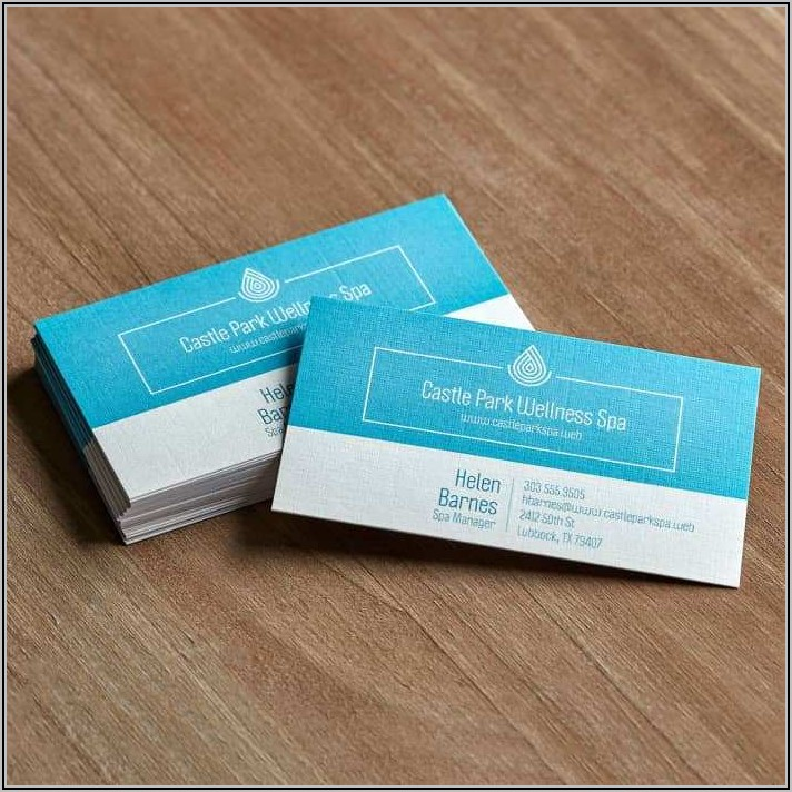 Vistaprint Square Business Card Template