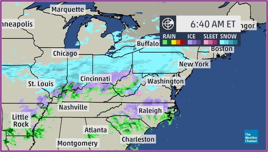 Weather Channel Atlanta Ga Radar Map