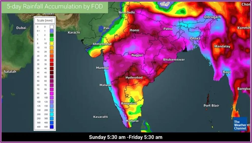 Weather Channel Hurricane Radar Map