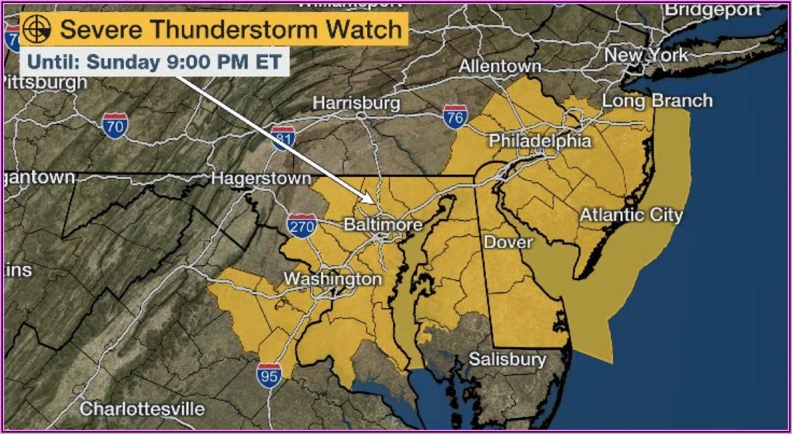 Weather Channel Radar Map Nj