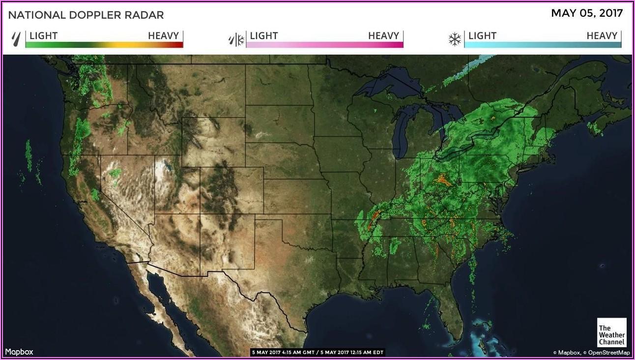 Weather Channel Radar Map
