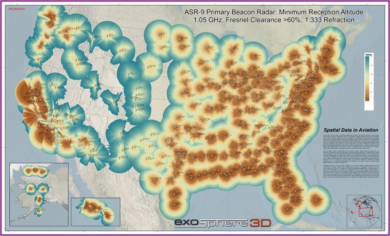 Weather Radar Coverage Map