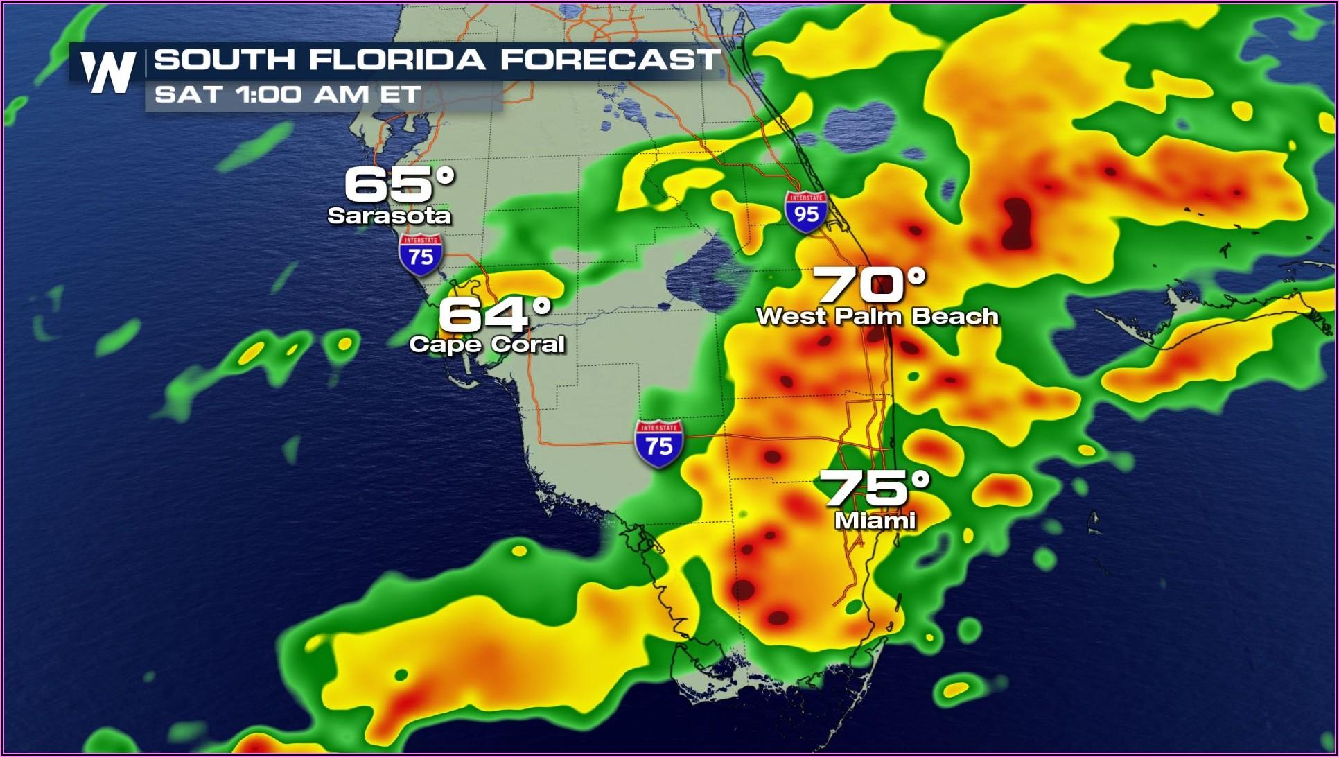 Weather Radar Map Florida Keys