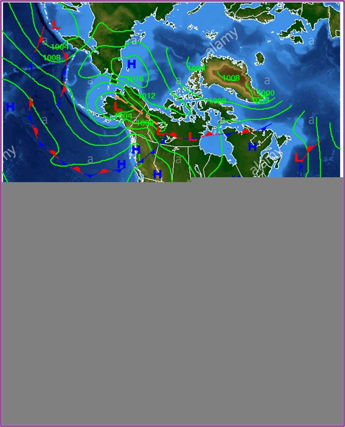 Weather Radar Map North America