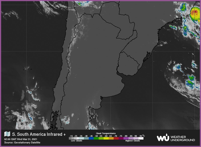 Weather Radar Map South America