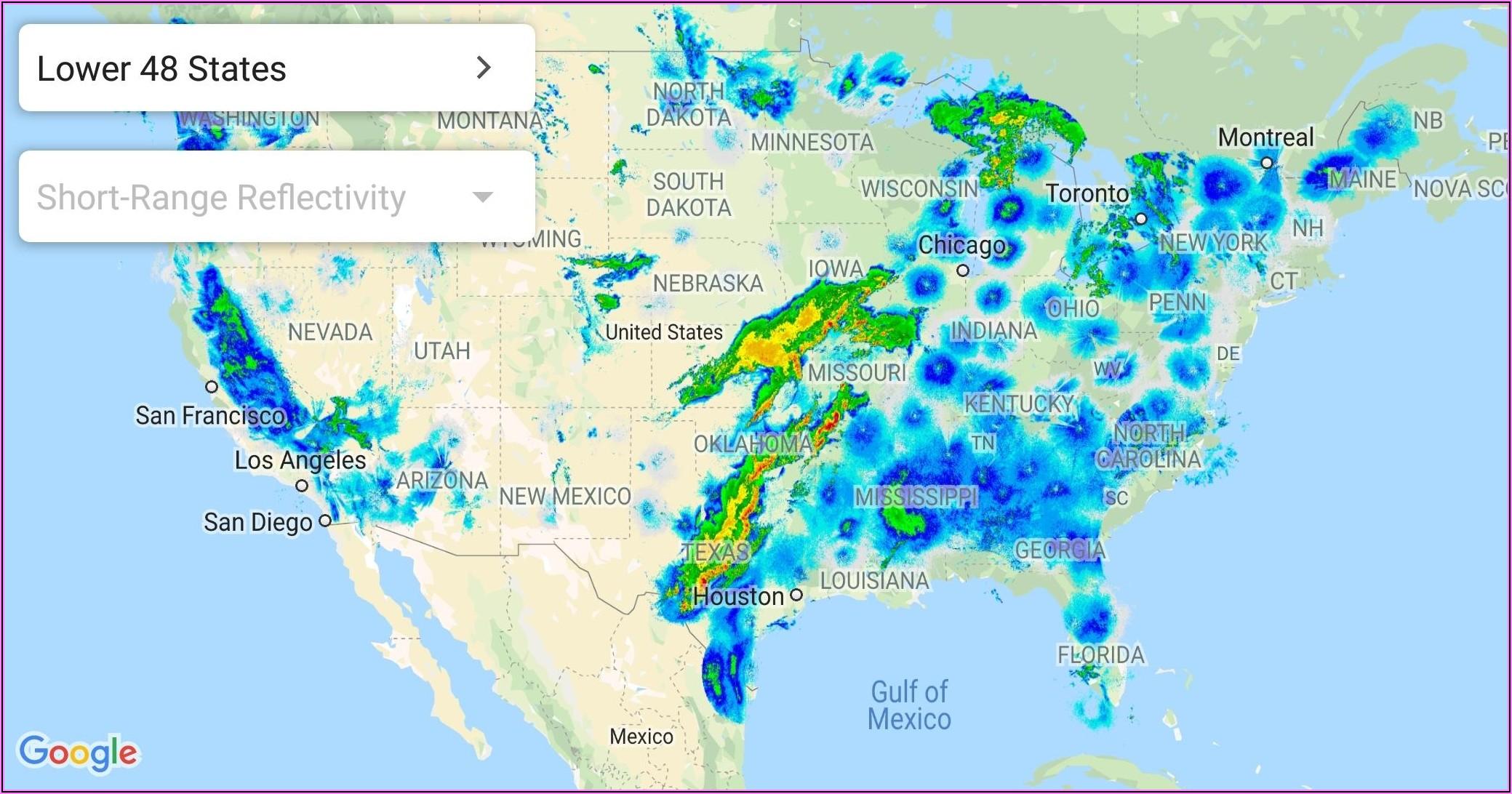Weather Radar Map South Florida
