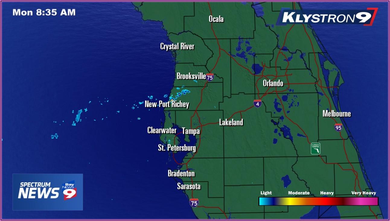 Weather Radar Map Tampa Florida