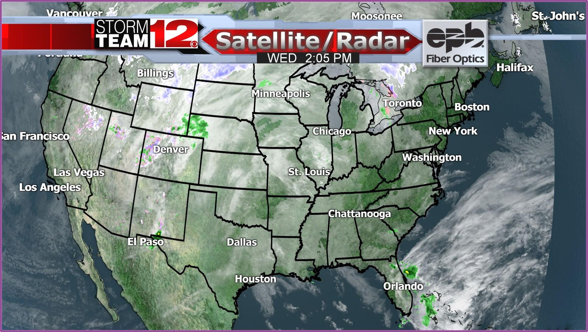 Weather Radar Map Usa