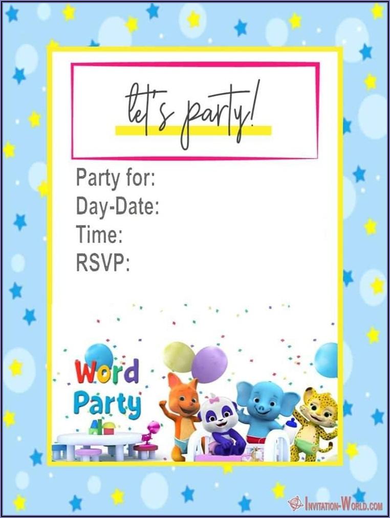 Wedding Shower Invite Template Free