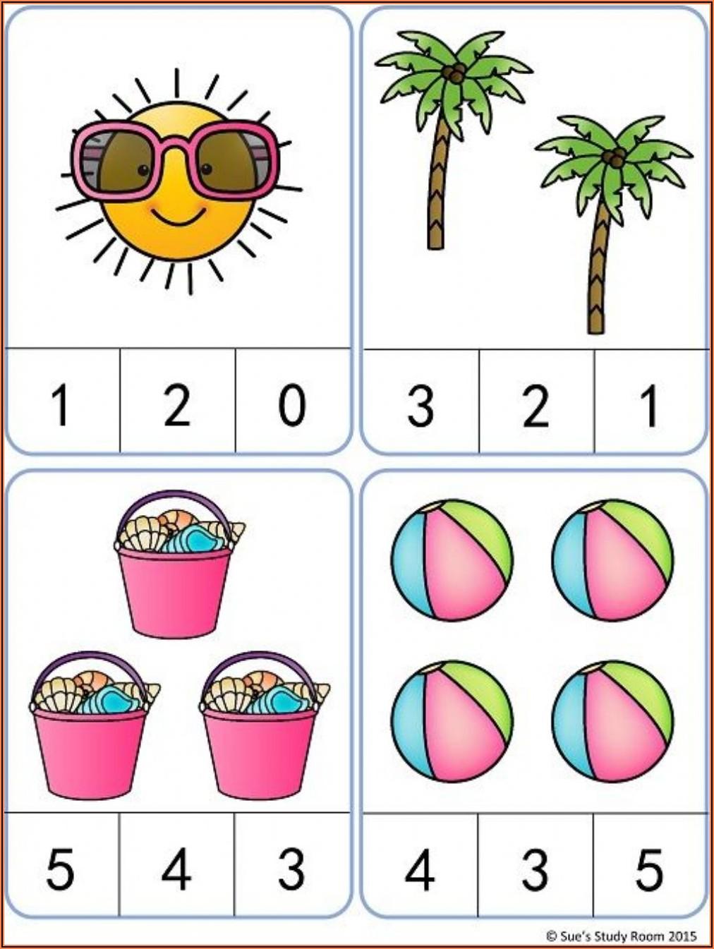 Worksheet For Kg Maths