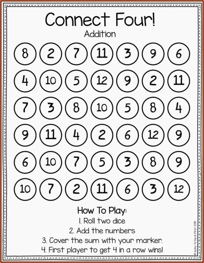 Worksheet For Kinder Math