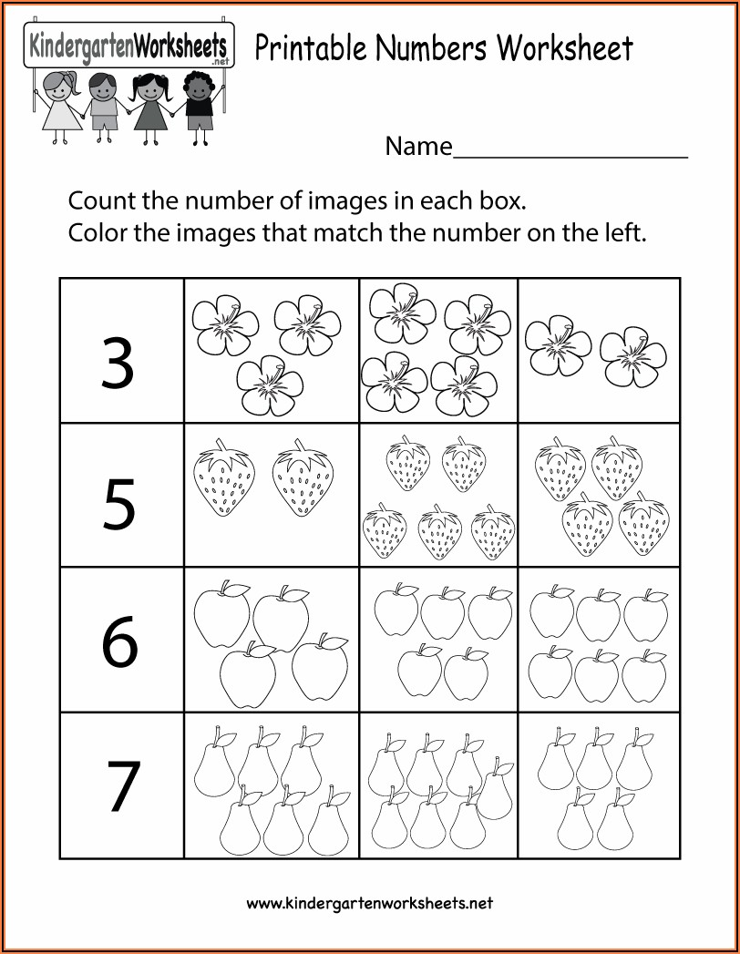 Worksheet Matching Numbers To Words