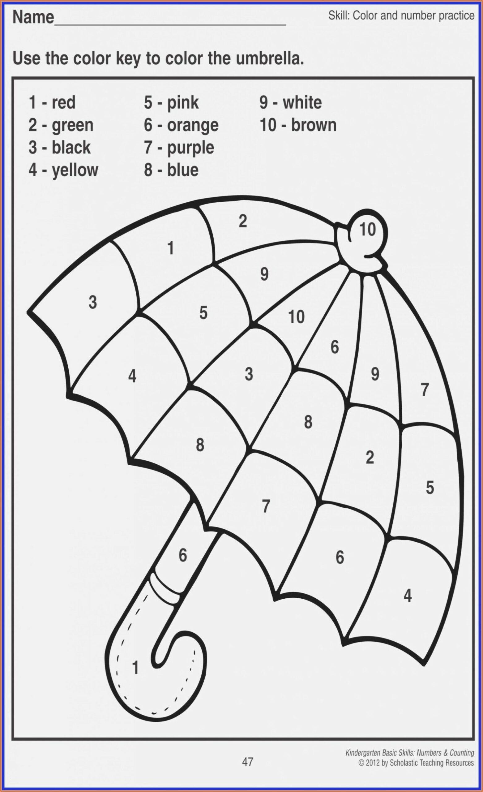 Write Numbers To Words Worksheet