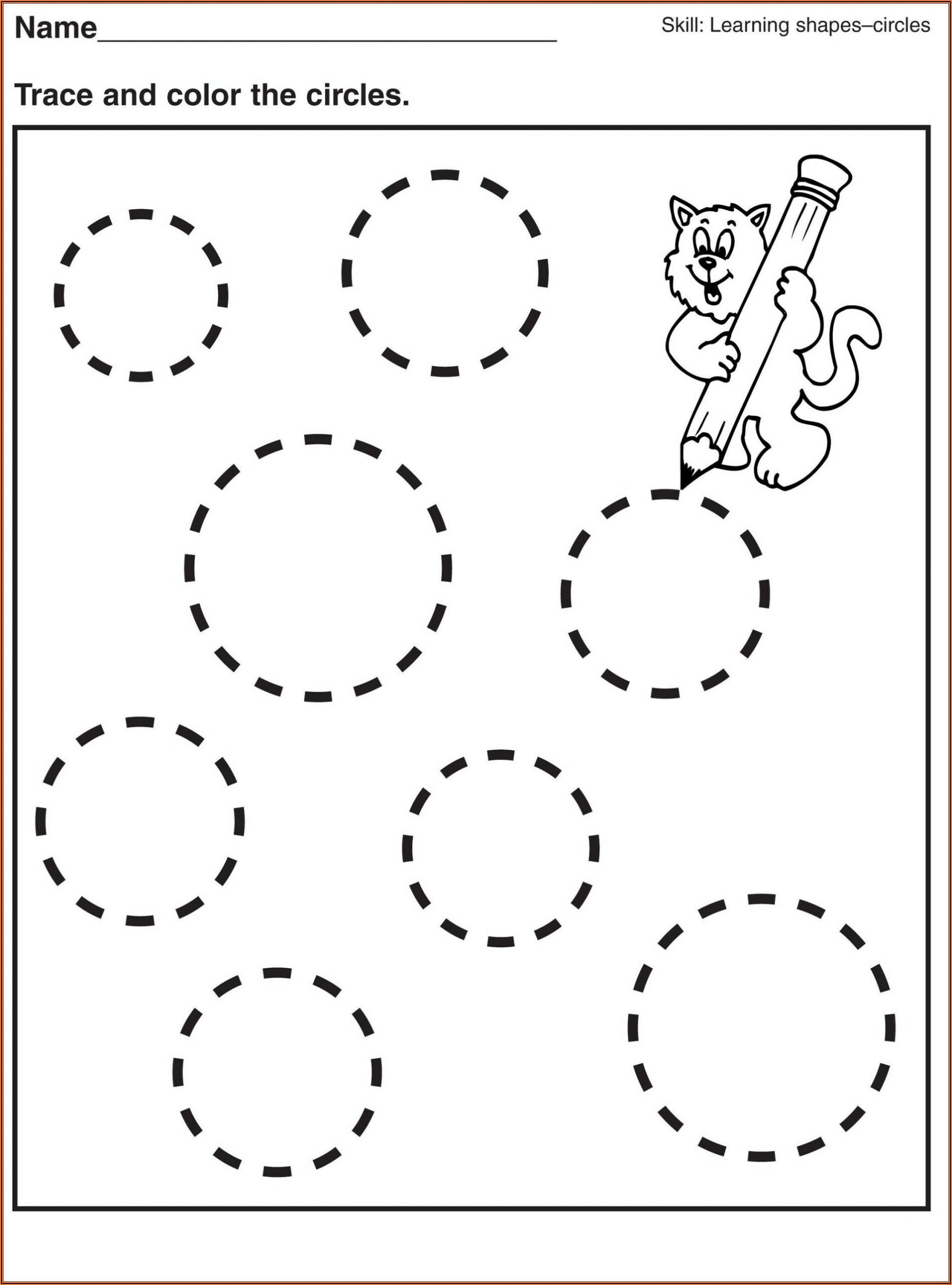 Writing Worksheets For Kindergarten Sight Words