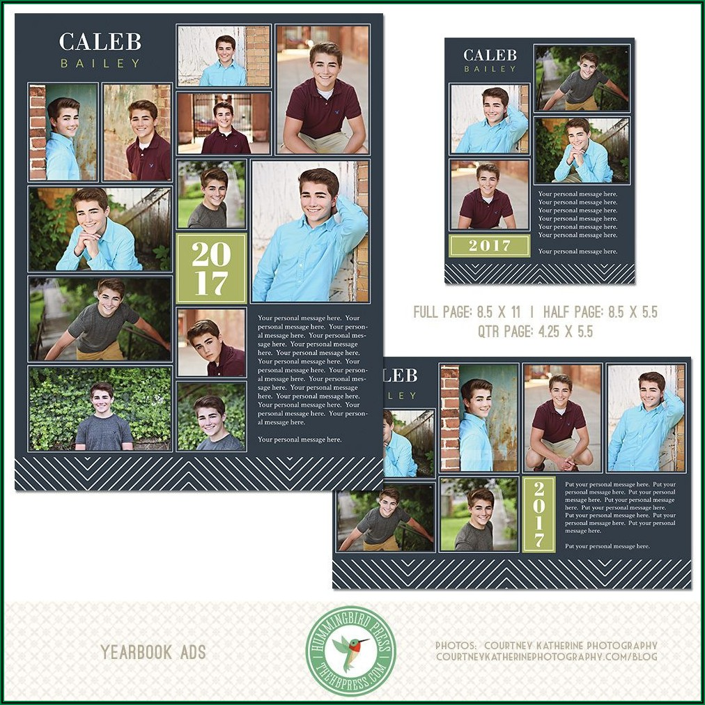 Yearbook Dedication Page Templates