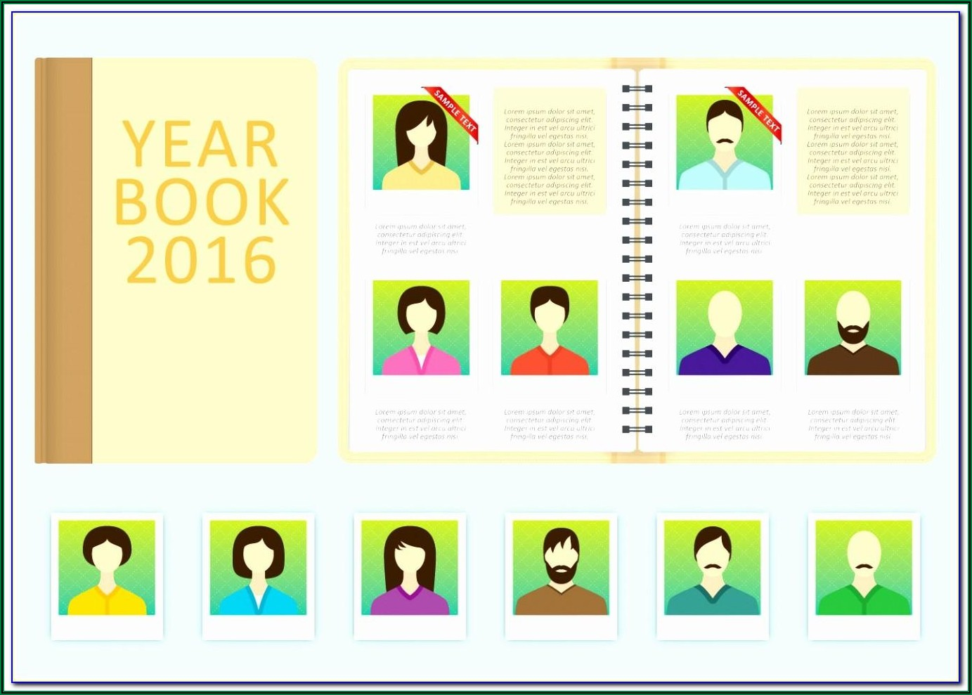 Yearbook Template Free Download