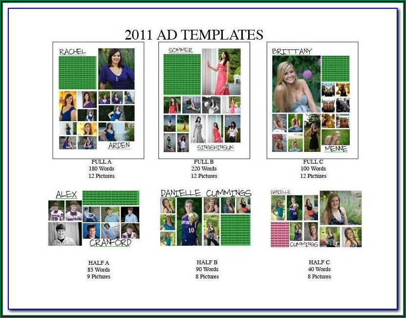 Yearbook Template Psd Free Download