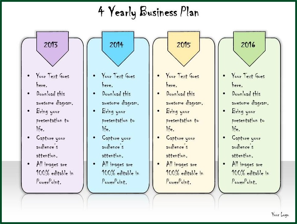 Yearly Business Plan Template