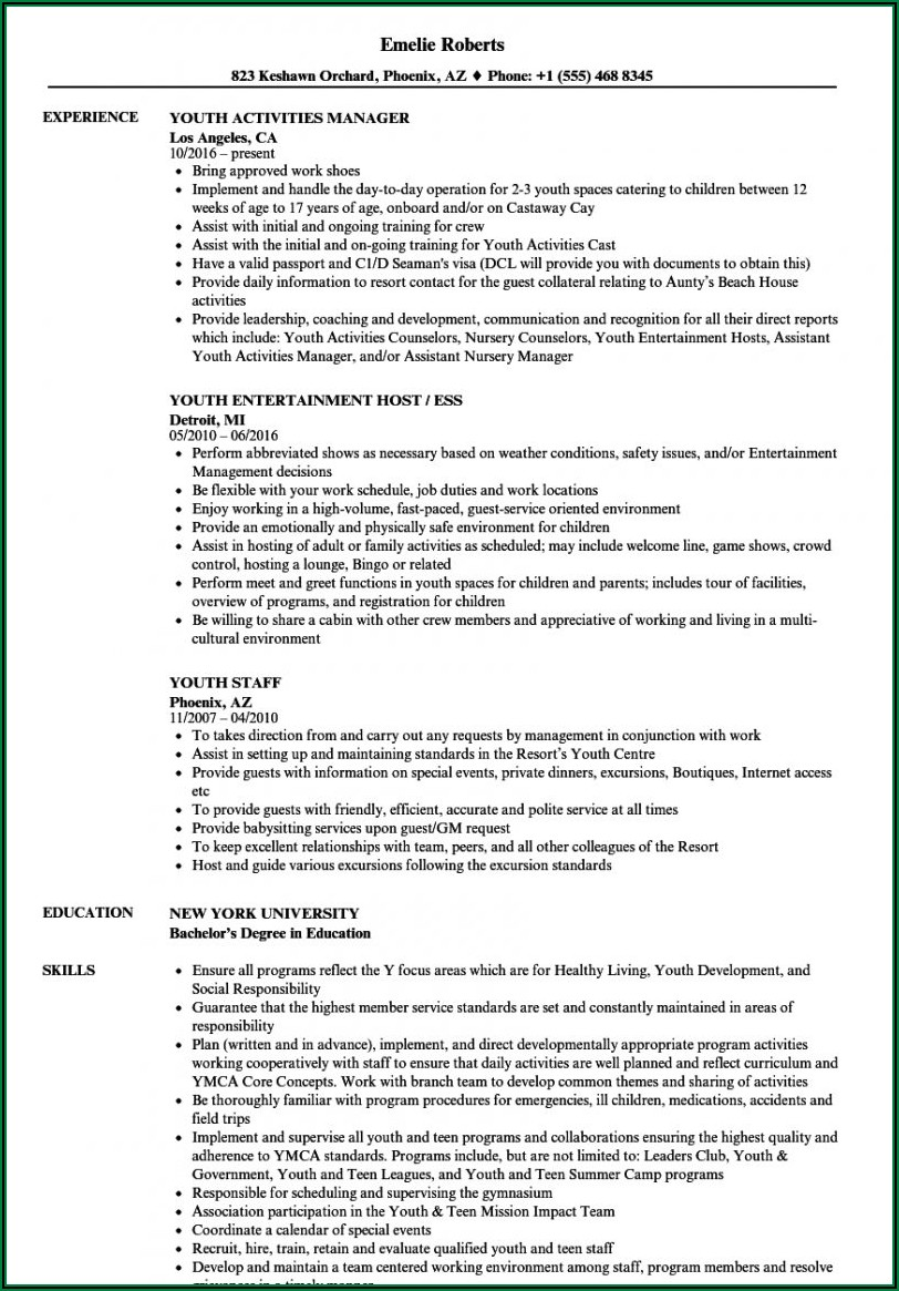 Youth Project Proposal Template