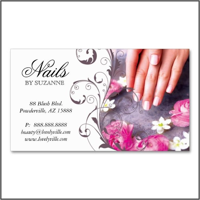 Zazzle Business Cards Nails