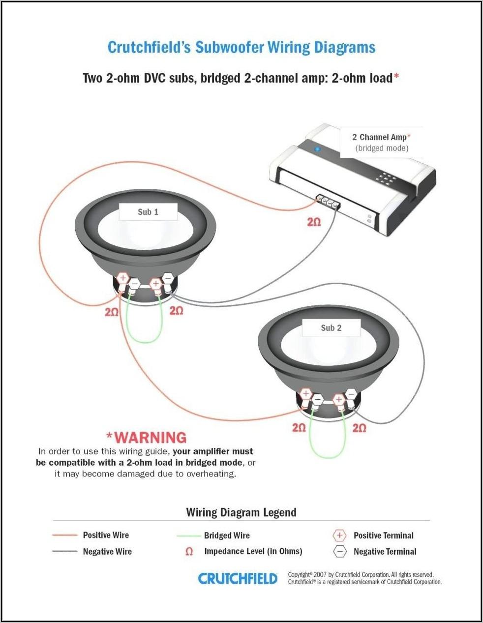 1 Ohm Sub Wiring Diagram