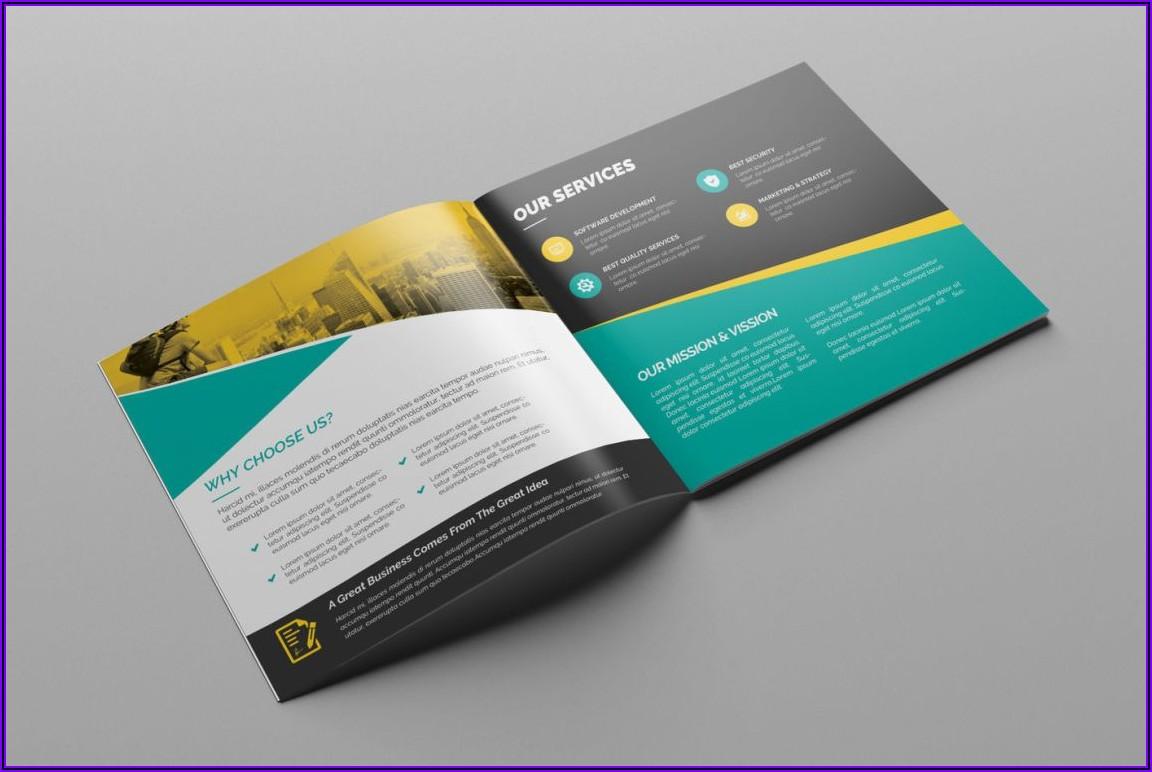 11x17 Bi Fold Brochure Template