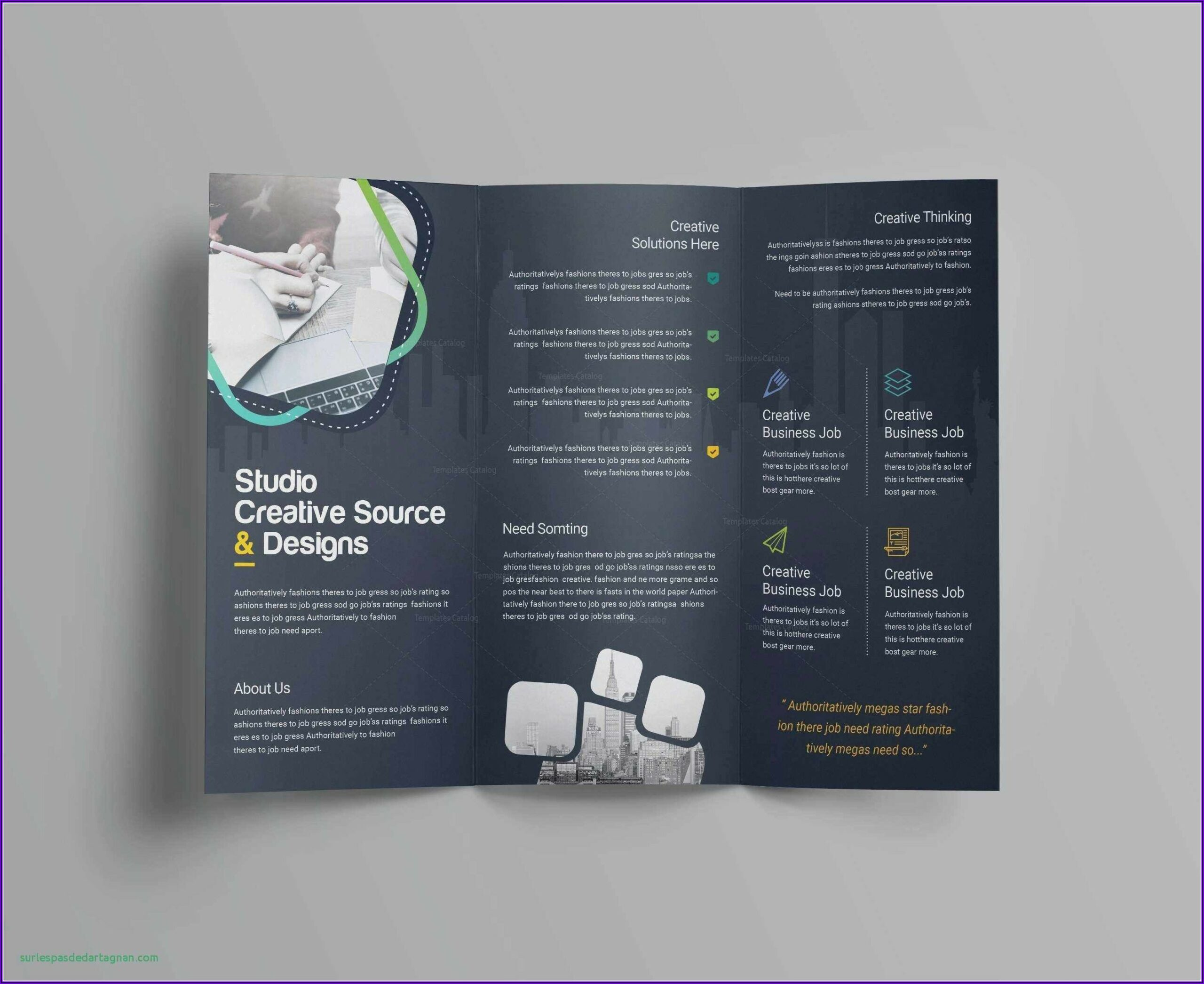 11x17 Brochure Template Publisher