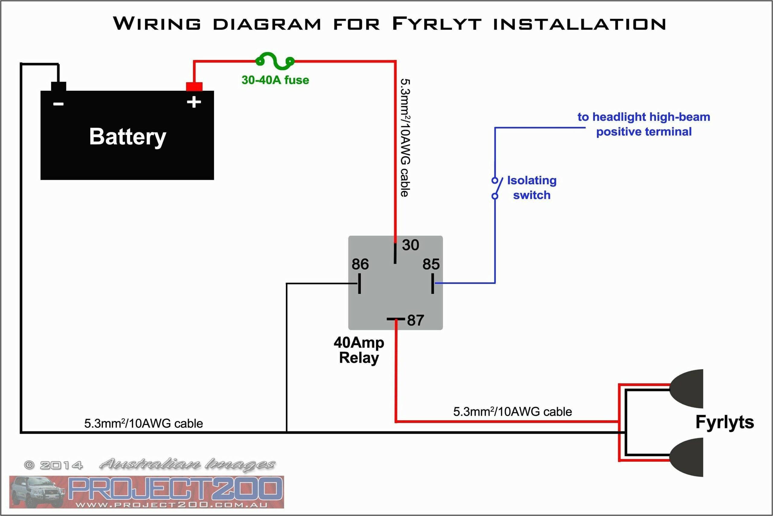 12v Relay Wiring Diagram 5 Pin For Horn