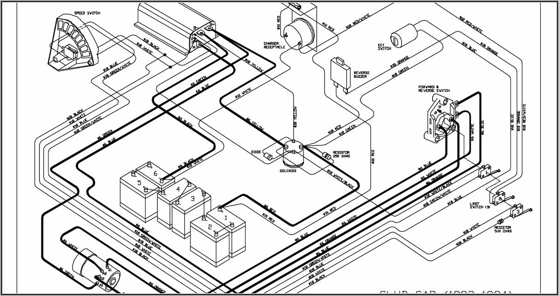 1995 Club Car Wiring Diagram 36 Volt