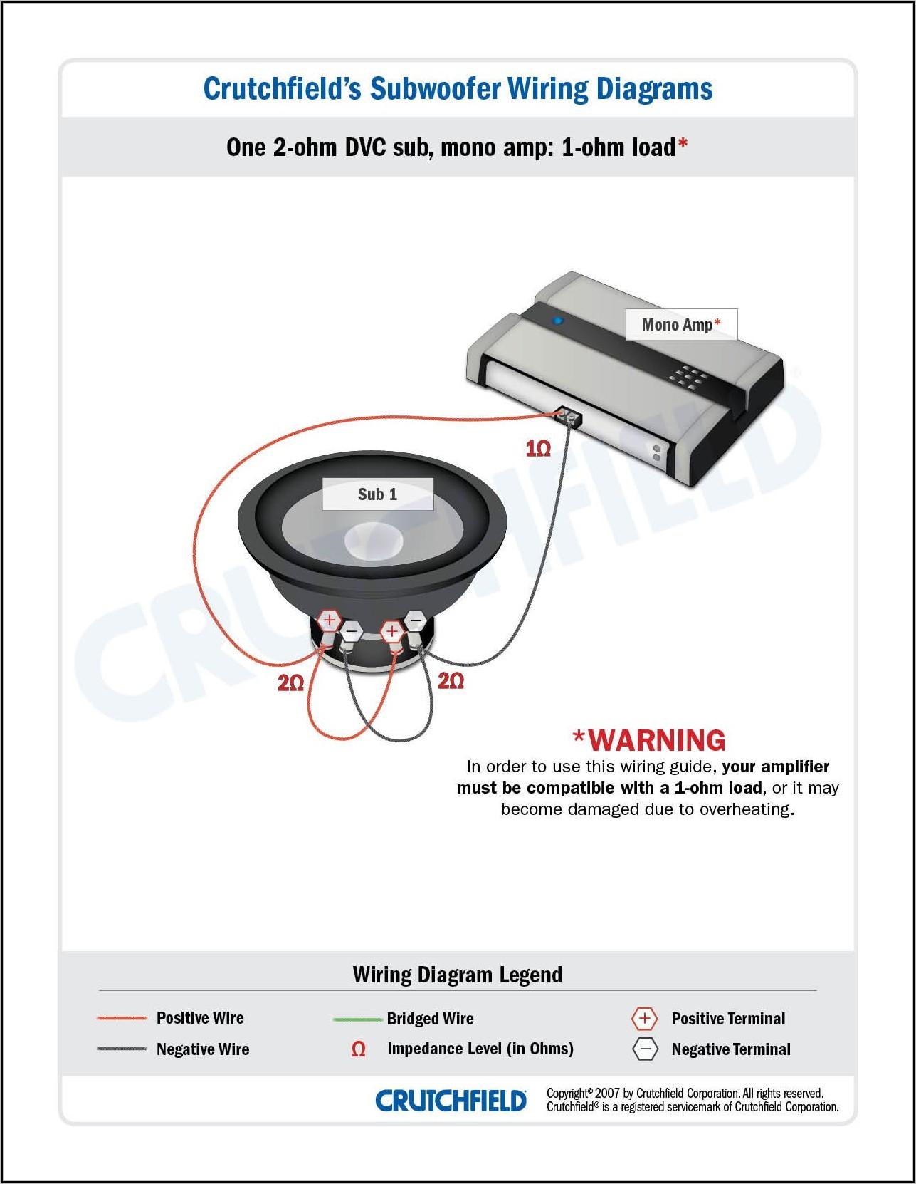 2 Ohm Sub Wiring Diagram