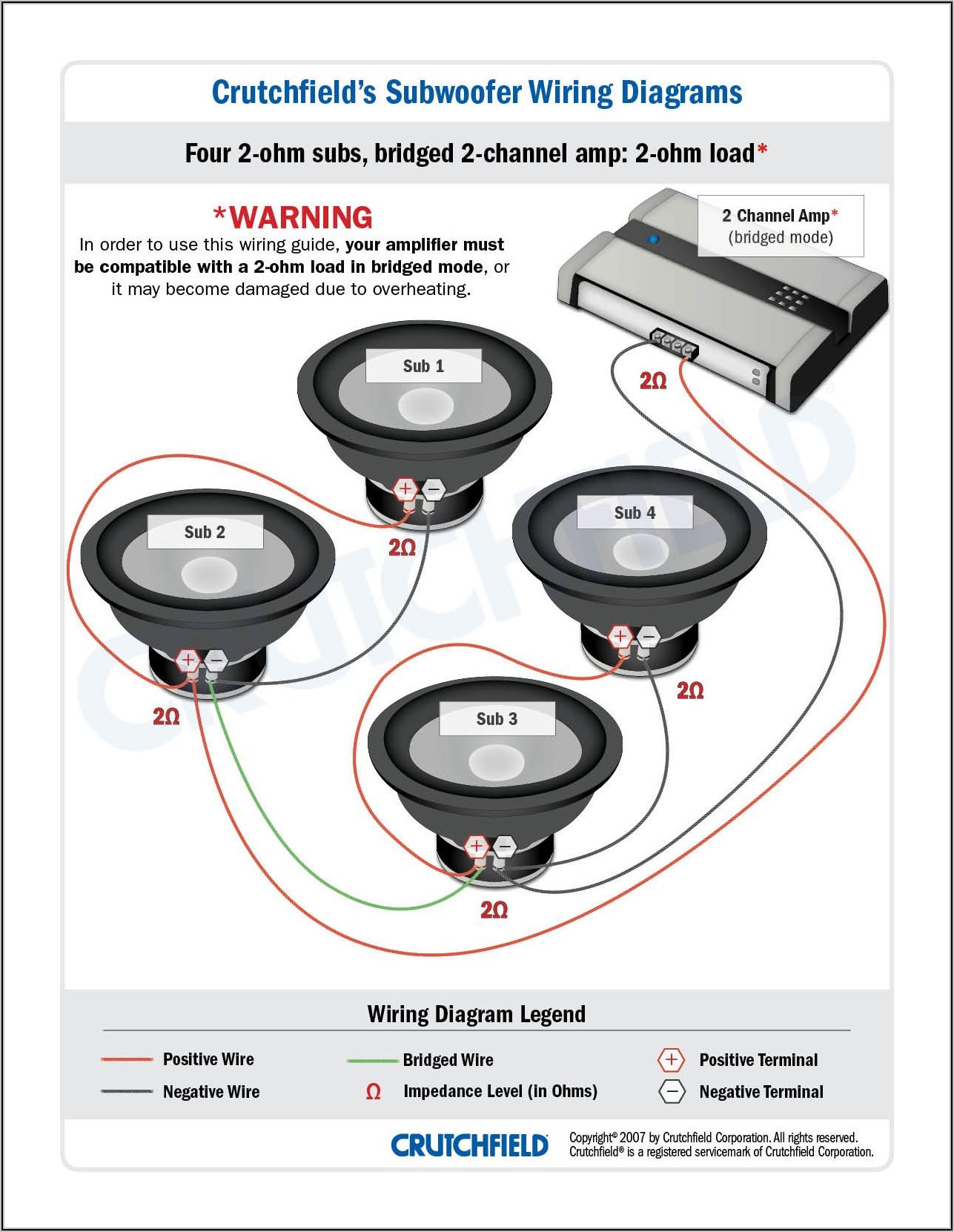 2 Ohm Wiring Diagram