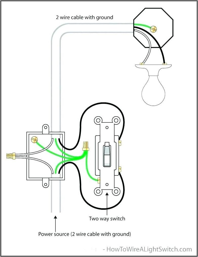 2 Way Light Switch Diagram Uk