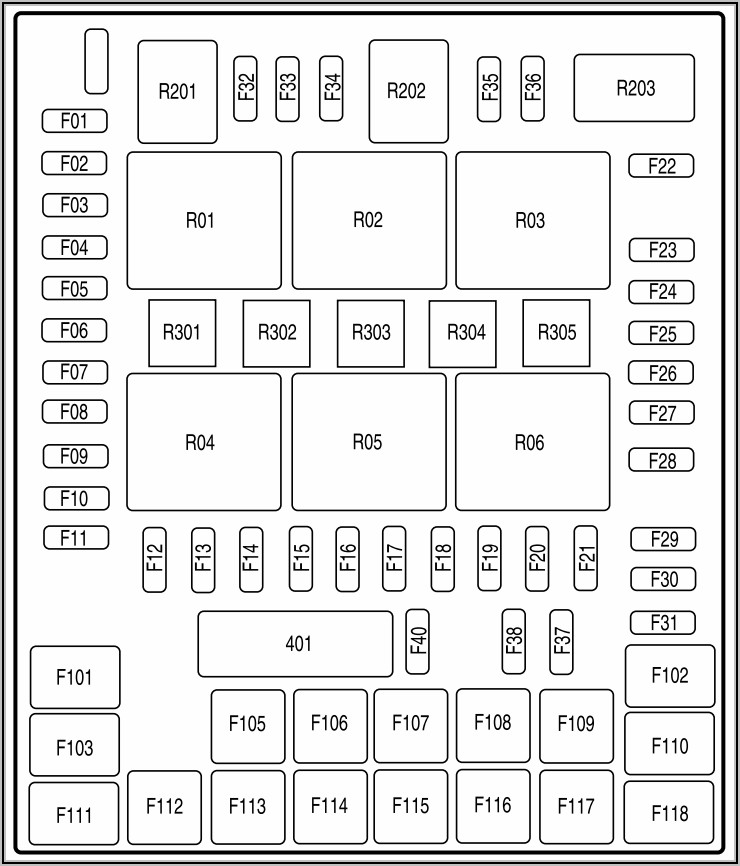 2005 Ford F150 Fuse Box Diagram