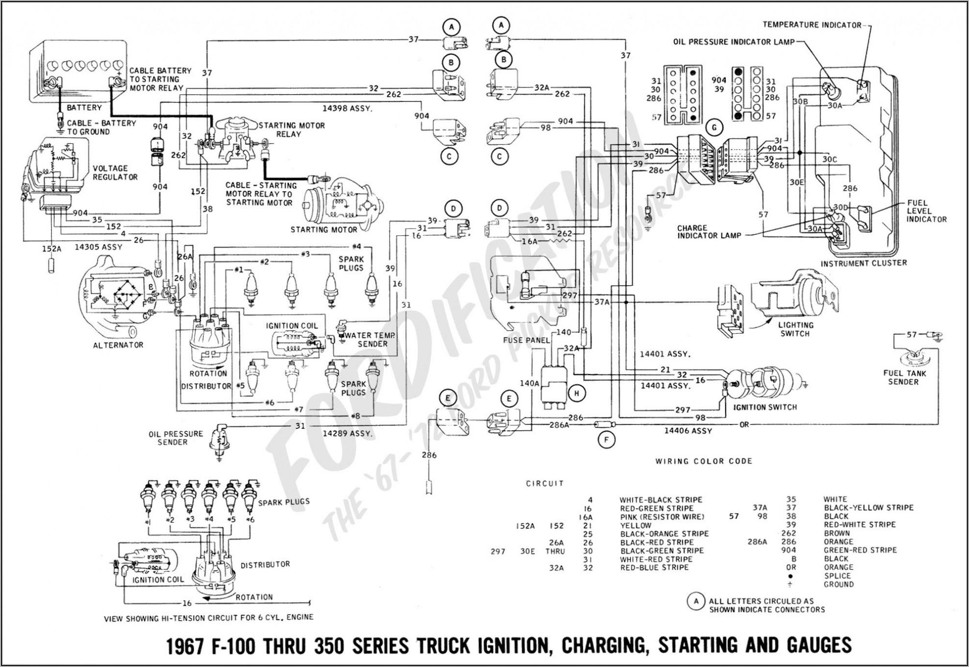 2005 Ford F150 Lariat Fuse Box Diagram