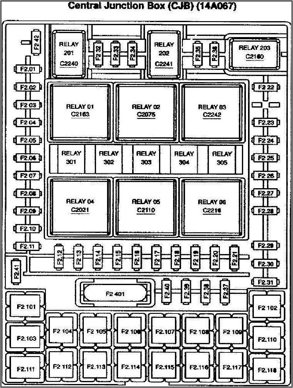 2005 Ford F150 Xlt Fuse Box Diagram