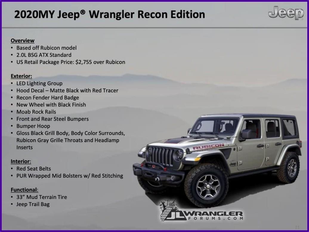 2018 Jeep Wrangler Brochure Pdf