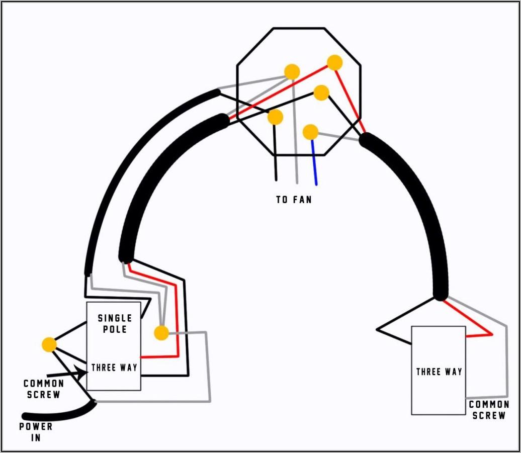 3 Way Fan Light Switch Diagram