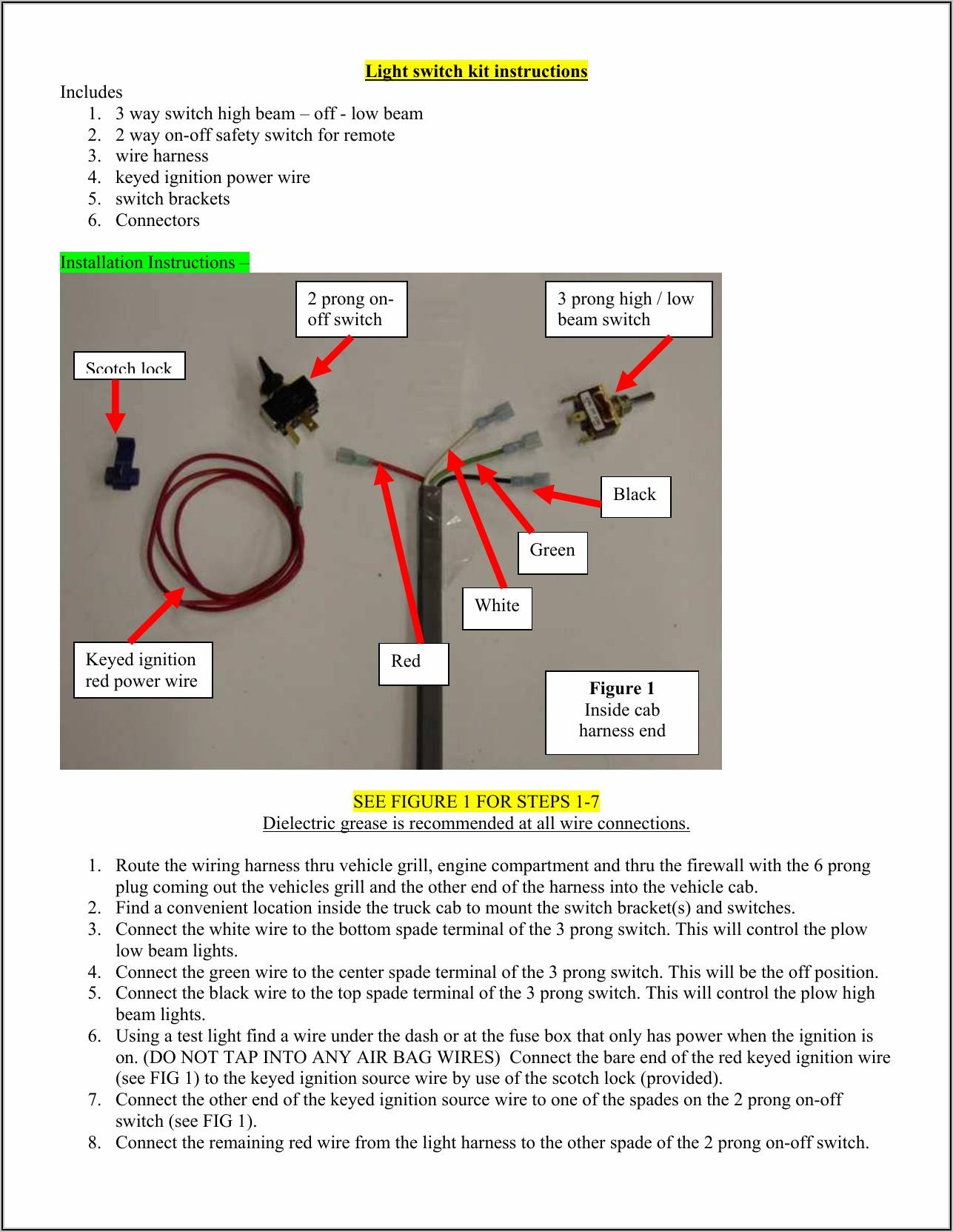 3 Way Light Switch Instructions