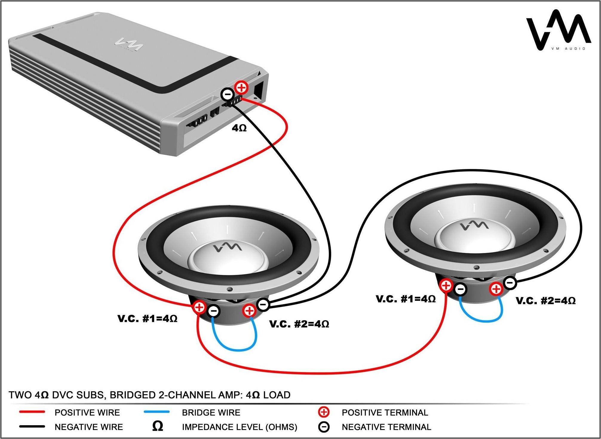 4 Ohm Dvc Sub Wiring Diagram