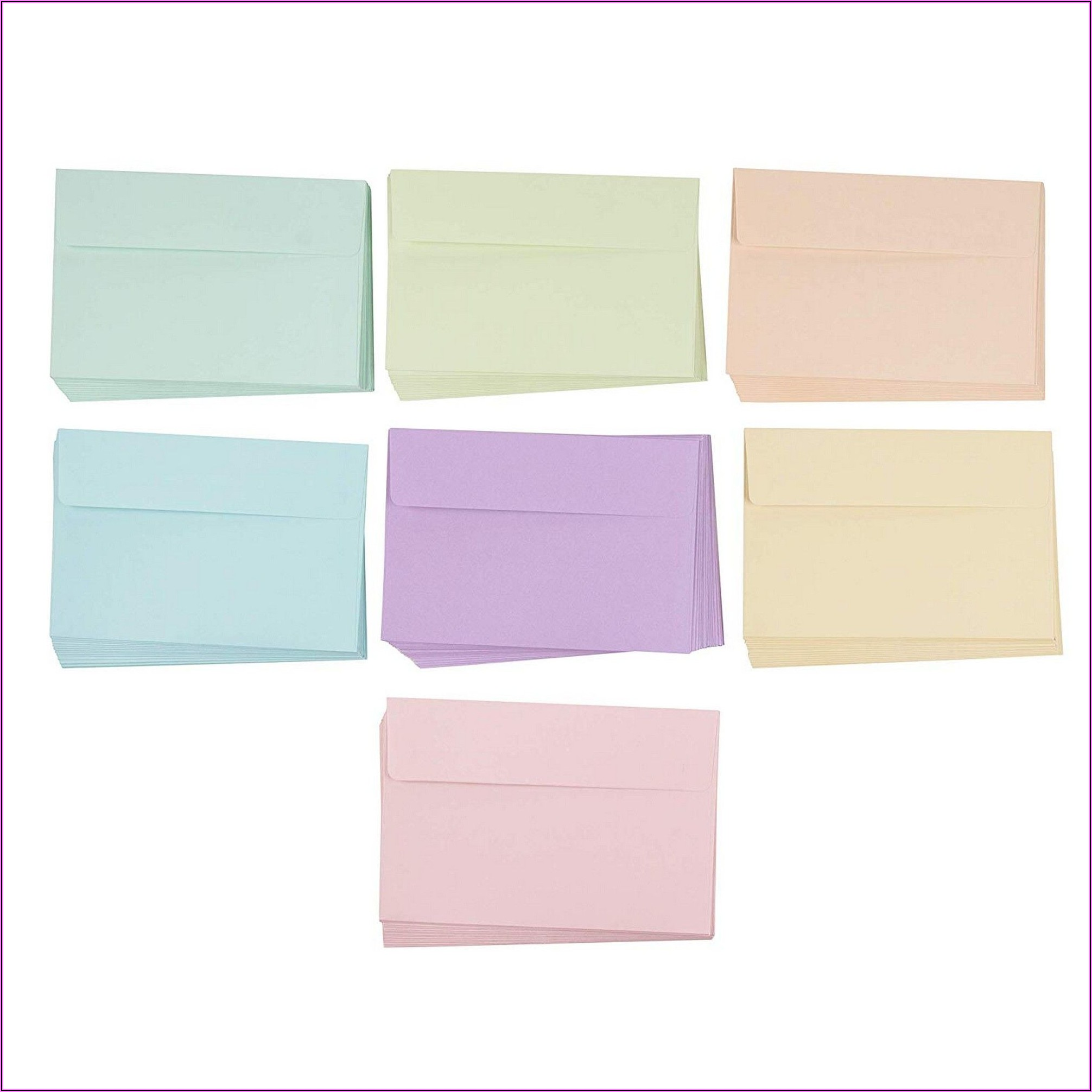 4x6 Invitation Envelopes Walmart