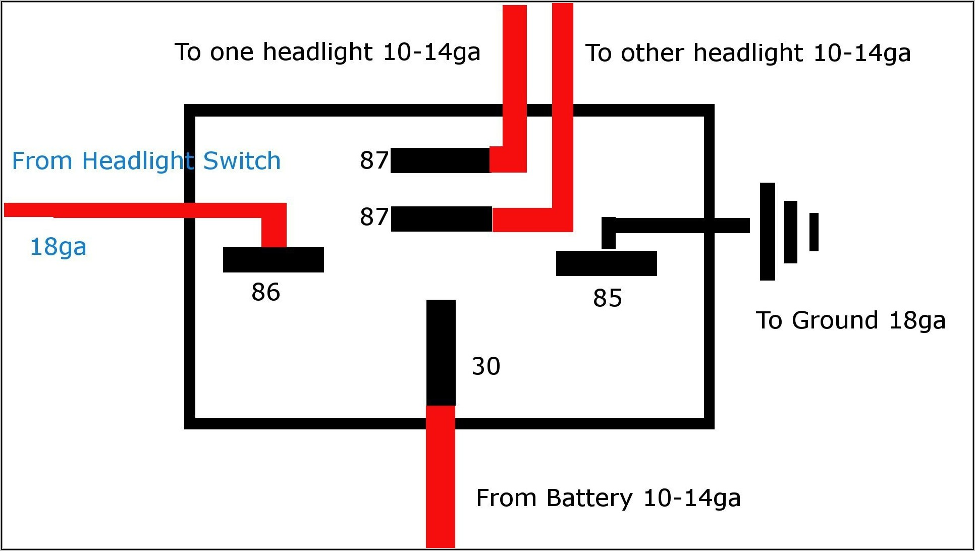 5 Pin Bosch Relay Wiring Diagram