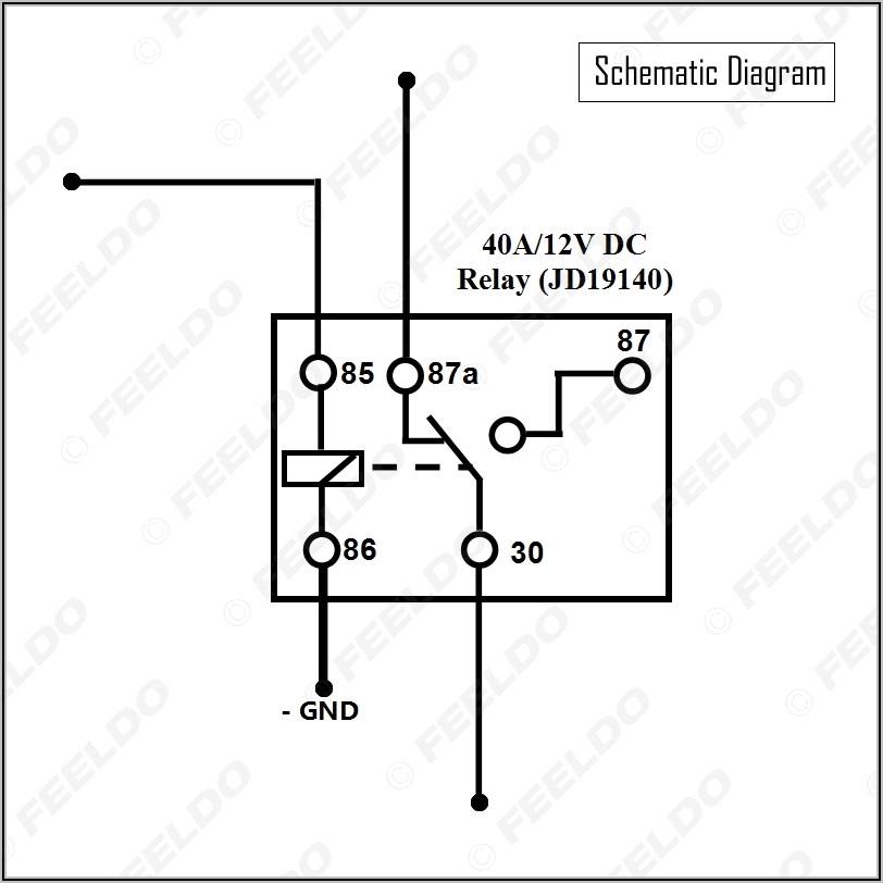 5 Pin Dc Relay Wiring Diagram