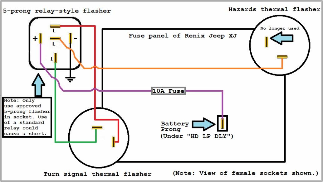 5 Pin Flasher Relay Wiring Diagram