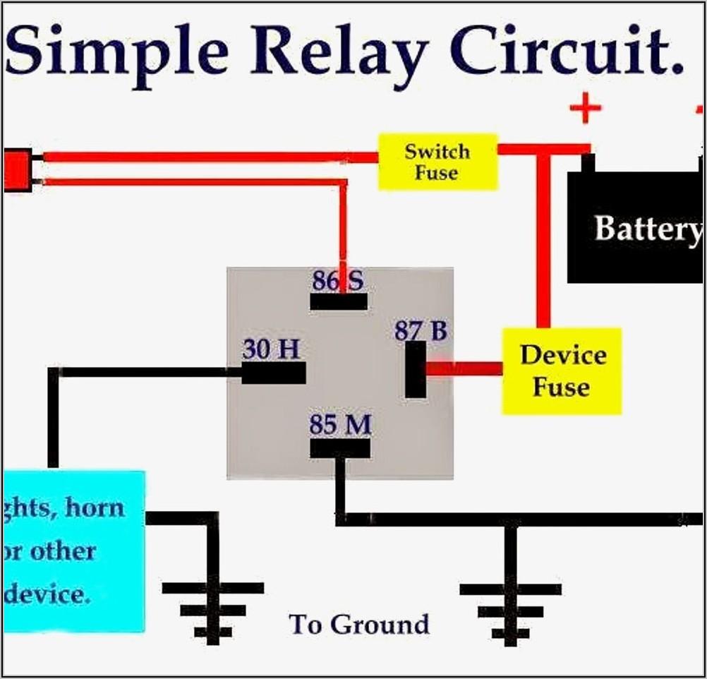 5 Pin Relay Diagram